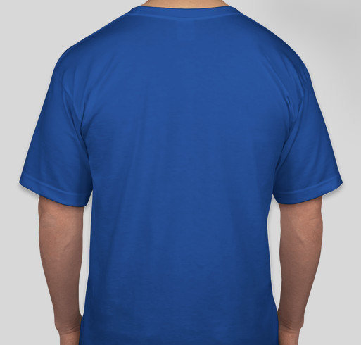 """Safe at Home"", Original 1950's Setauket Baseball Logo T-Shirt, honoring Hub Edwards Fundraiser - unisex shirt design - back"