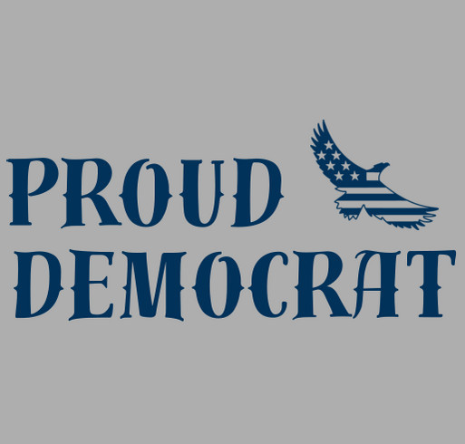 "PROUD Democrats of ""South County"" shirt design - zoomed"
