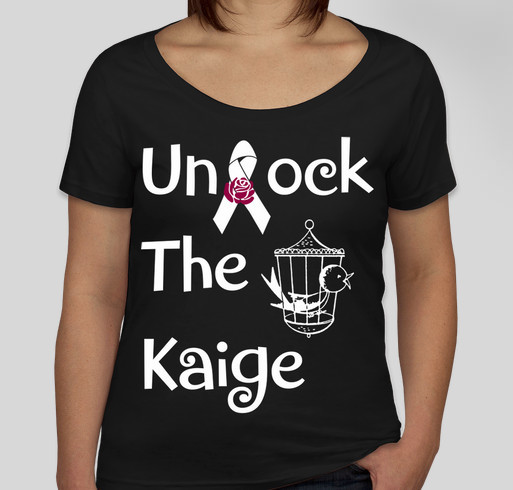 Unlock The Kaige Tshirt Fundraiser Fundraiser - unisex shirt design - back
