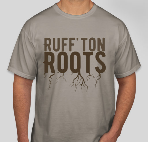 Ruff'ton Roots Community Garden Fundraiser Fundraiser - unisex shirt design - front