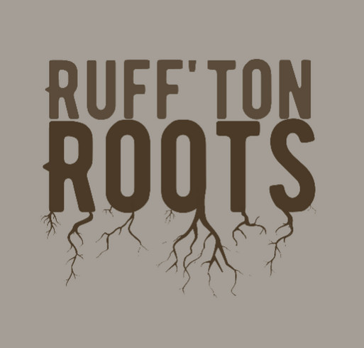 Ruff'ton Roots Community Garden Fundraiser shirt design - zoomed