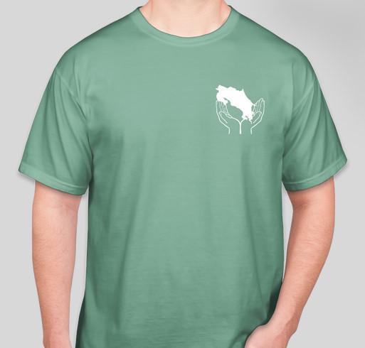 Costa rica mission trip custom ink fundraising for Costa fishing shirt