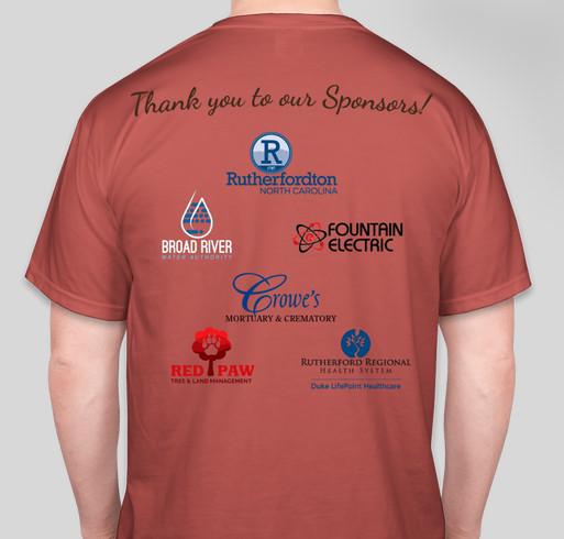 Ruff'ton Roots Community Garden Fundraiser Fundraiser - unisex shirt design - back