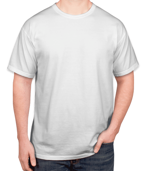 work t shirt with your details printed on add with order