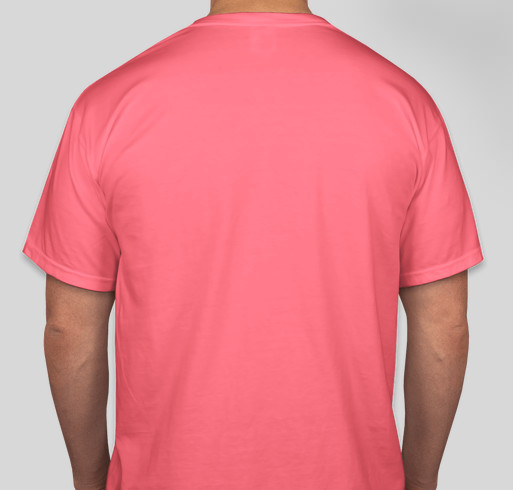 Limited edition Cool ZBCB Shirts Fundraiser - unisex shirt design - back