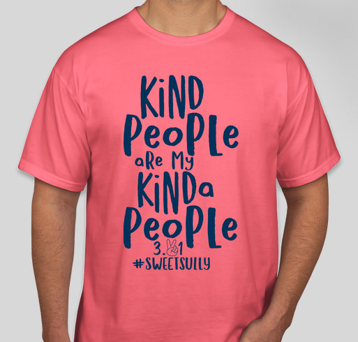 Kind People Are My Kinda People Fundraiser - unisex shirt design - front