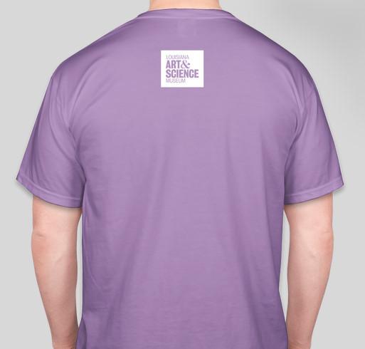 LASM's Summer of Lagniappe T-Shirt Fundraiser - unisex shirt design - back