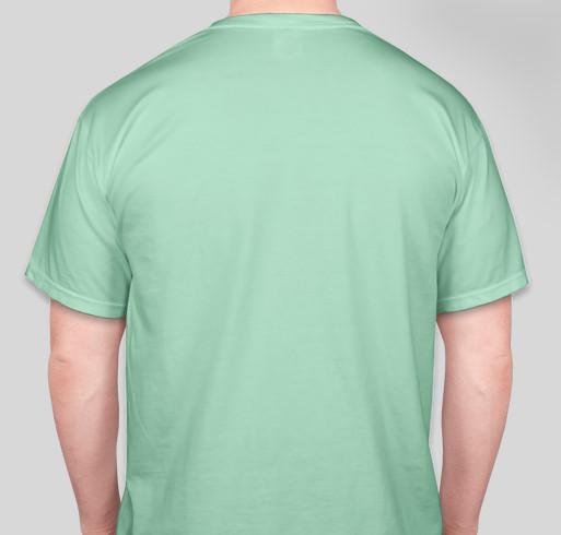 I'm Worthy Project Fundraiser - unisex shirt design - back
