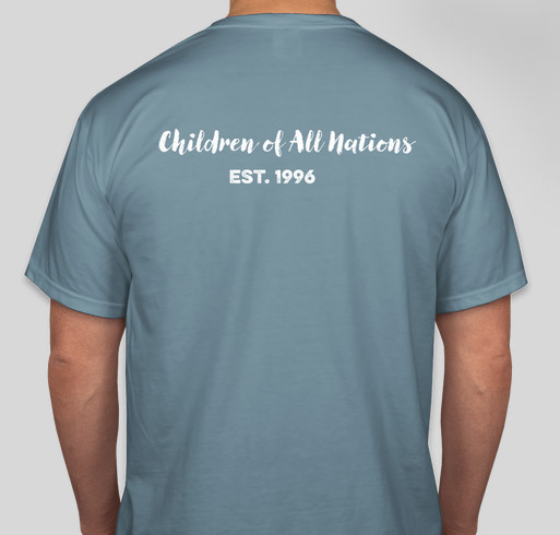 Burundian orphanage needs help! Fundraiser - unisex shirt design - back