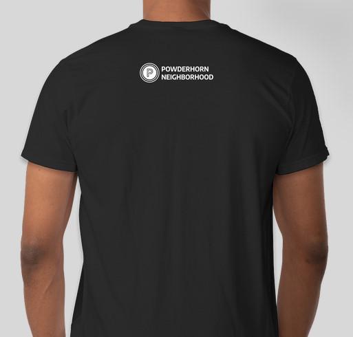 30th Annual Powderhorn Art Fair Fundraiser - unisex shirt design - back