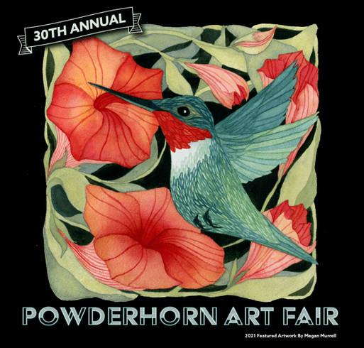 30th Annual Powderhorn Art Fair shirt design - zoomed