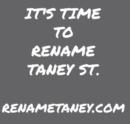 Rename Taney T Shirts shirt design - zoomed