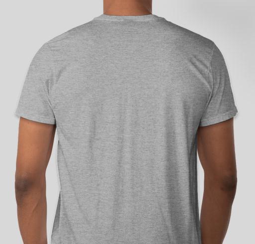 Labor Day Singles and Leaders Retreat Tshirt Fundraiser - unisex shirt design - back