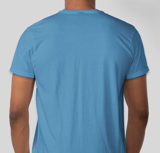 Long Ear Rescue BAD ASS T-Shirt Fundraiser Fundraiser - unisex shirt design - back