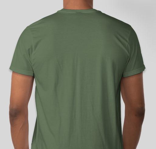 NNP Summer T shirt campaign Fundraiser - unisex shirt design - back