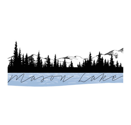 Mason Lake Fireworks Show Apparel shirt design - zoomed