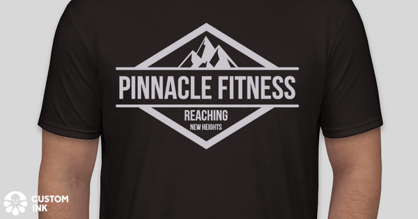 Pinnacle fitness t shirts custom ink fundraising for Custom t shirts under 5 dollars