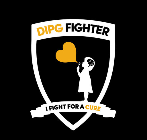 Fight DIPG shirt design - zoomed