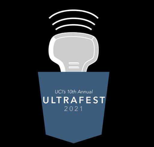 UCI Ultrafest T-shirt Fundraiser shirt design - zoomed