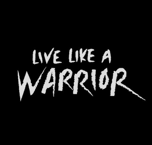 Aaron Atkins: Live Like A Warrior shirt design - zoomed