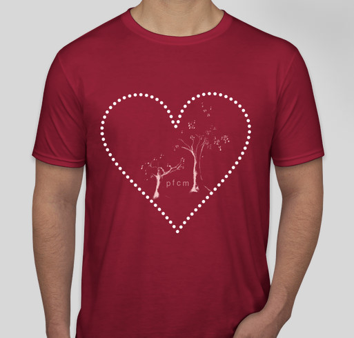 Pikes Falls Chamber Music Festival Loves You Fundraiser - unisex shirt design - front