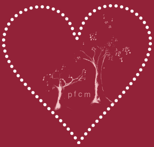 Pikes Falls Chamber Music Festival Loves You shirt design - zoomed