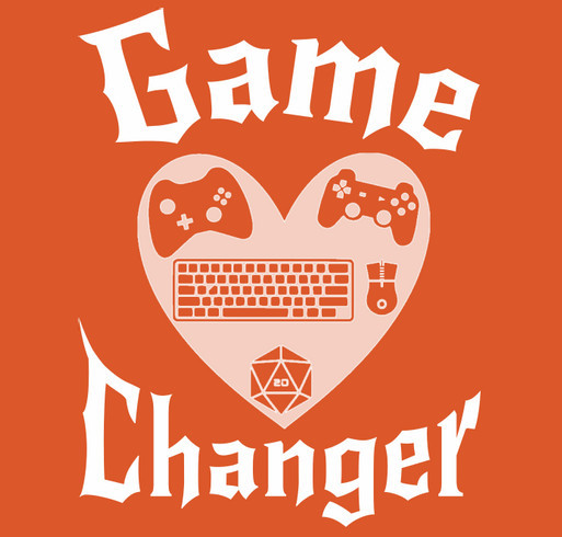 Game Warriors- Game Changer shirt design - zoomed