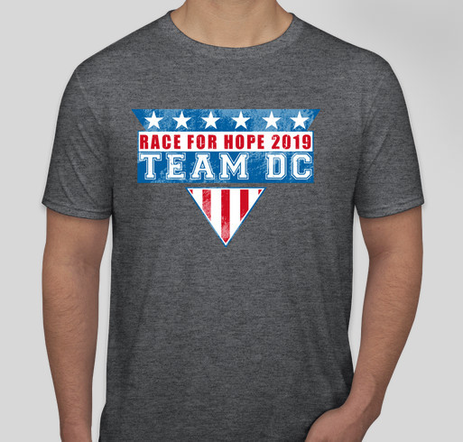 David Cook's Team for a Cure Shirt - Race for Hope 2019 Fundraiser - unisex shirt design - small