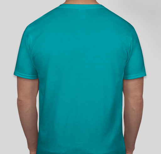 Support our Staff through COVID-19 Fundraiser - unisex shirt design - back