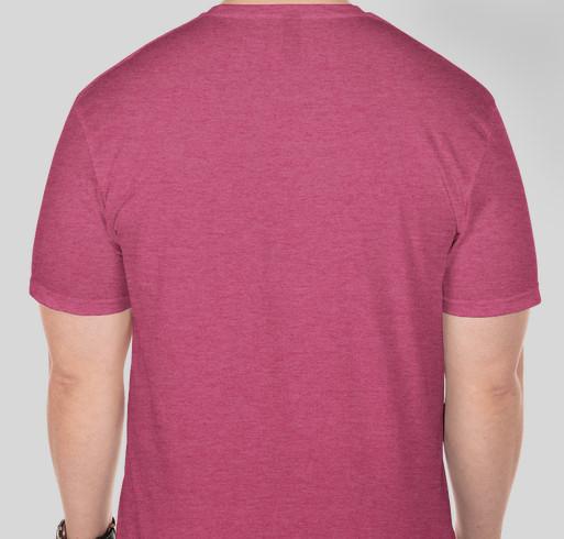 LOVE 01760 t-shirts to benefit Natick Service Council Fundraiser - unisex shirt design - back