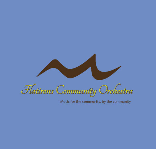 Flatirons Community Orchestra shirt design - zoomed