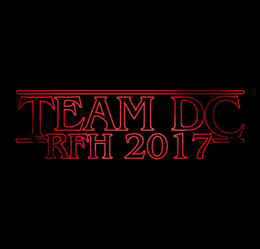 David Cook's Team for a Cure T-Shirt - 2017 Race for Hope shirt design - zoomed