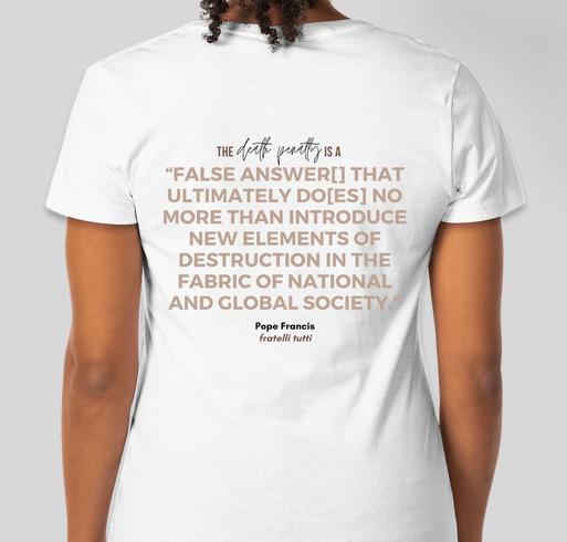 Introducing The Isaac Statement Fundraiser - unisex shirt design - back