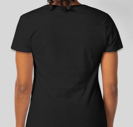 BSidesLV Tshirts & Hoodies Fundraiser - unisex shirt design - back