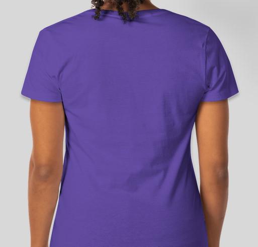 Second Chance Cocker Rescue Wash Your Paws Shirt Fundraiser - unisex shirt design - back