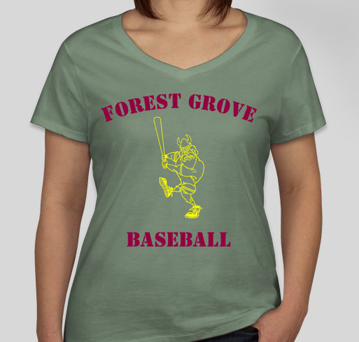 Help forest grove baseball and disabled veterans custom for Rainforest t shirt fundraiser