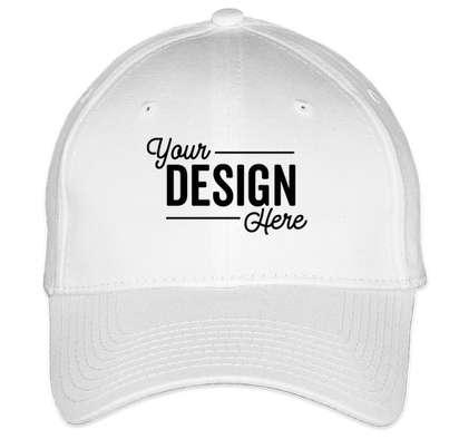 New Era 39THIRTY Stretch Fit Cotton Hat - White