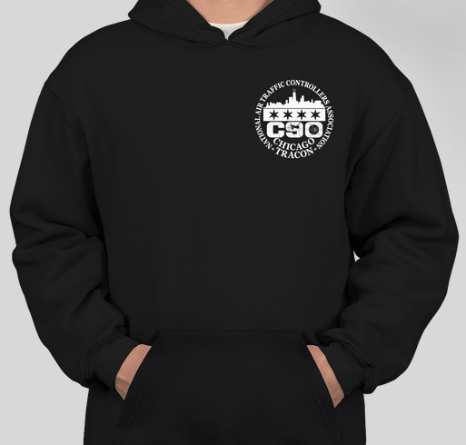 Bayside Heavyweight USA Hooded Sweatshirt
