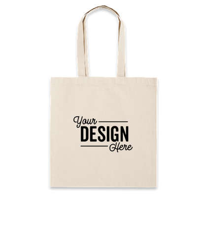 Lightweight 100% Cotton Tote - Natural