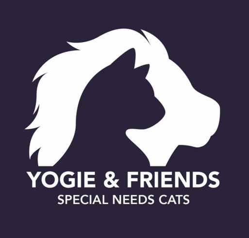 Special Needs Cats Need Us! shirt design - zoomed