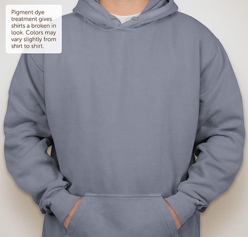 Comfort Colors Hooded Sweatshirt - Blue Jean