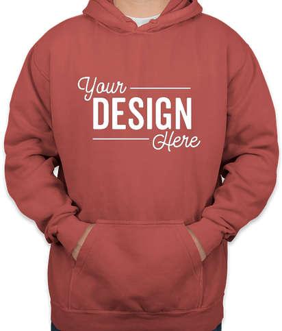 Comfort Colors Hooded Sweatshirt - Crimson
