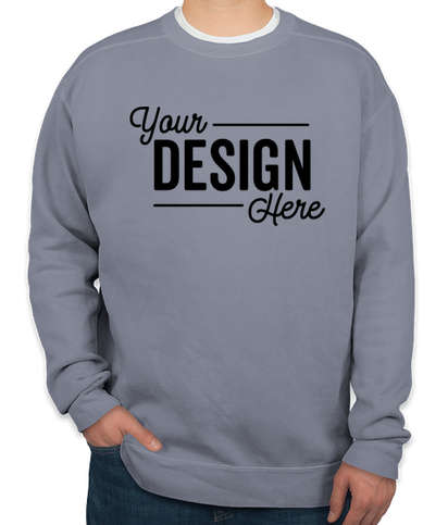 Comfort Colors Crewneck Sweatshirt - Blue Jean