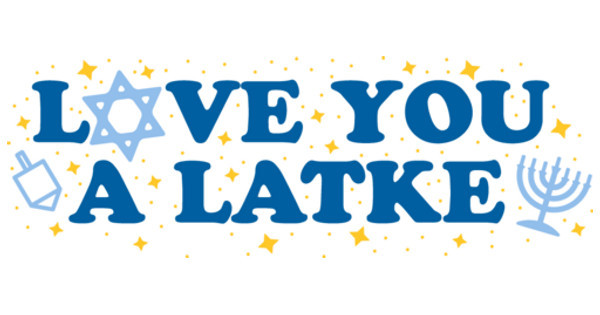 Love You a latke