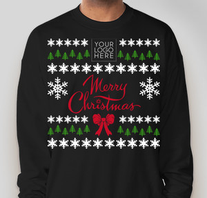 business christmas sweater
