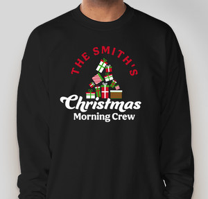 Christmas morning crew