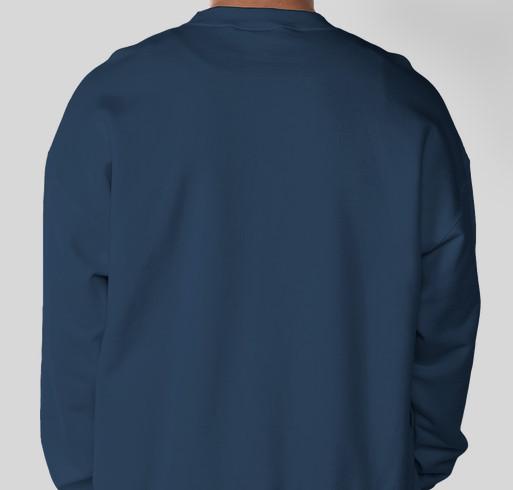 Happy Holidays Fundraiser - unisex shirt design - back