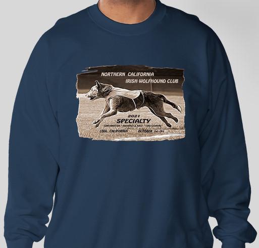 NCIWC Specialty 2021-Sweatshirts and Hoodies Fundraiser - unisex shirt design - front