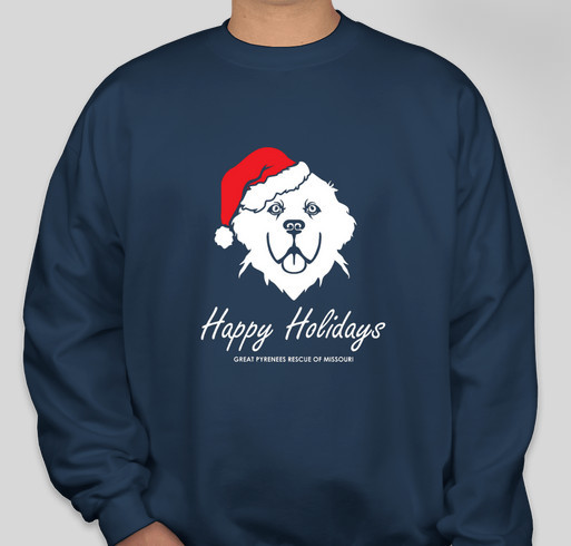 Happy Holidays Fundraiser - unisex shirt design - front