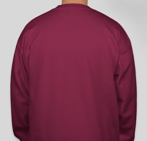 Wicked Strong Mom Sweatshirt Fundraiser - unisex shirt design - back
